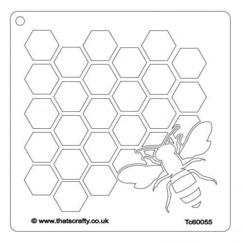 Thats-Crafty-Honey-Bee-Stencil